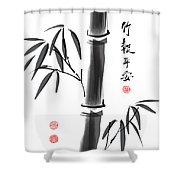 Me, You, And Bam Boo Too Shower Curtain