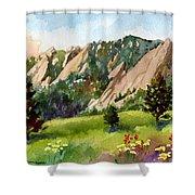 Meadow At Chautauqua Shower Curtain