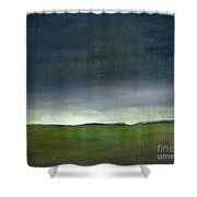 Meadow At Sunset Shower Curtain