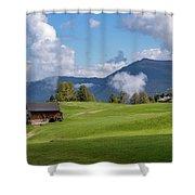 Meadow In Alpe Di Siusi Shower Curtain