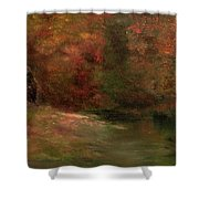 Meadow In Fall Shower Curtain