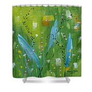 Meadow Musing Shower Curtain
