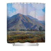 Meadow Of The Mountain Shower Curtain