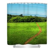 Meadow Trail Shower Curtain