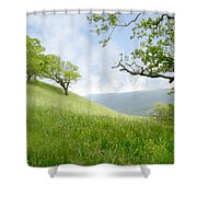 Meadow View Spring Shower Curtain