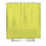 Meadowlark Quatrefoil Shower Curtain
