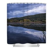 Meadows Dusk Shower Curtain
