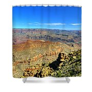 Meandering Shower Curtain
