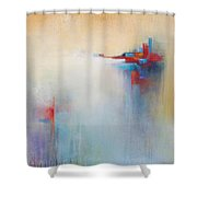 Measured Shower Curtain