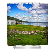 Meat Cove Shower Curtain