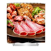Meat Shower Curtain