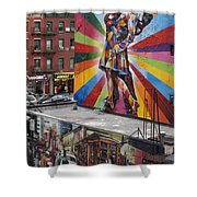Meatpacking District Nyc Shower Curtain