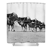 Mecca: Caravan, C1910 Shower Curtain