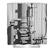Mechanical Doo Dad Shower Curtain