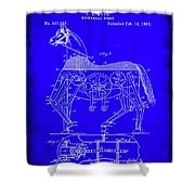 Mechanical Horse Patent Art 1b           Shower Curtain