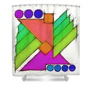 Mechanical Wings 2 Shower Curtain