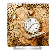 Mechanisms In Industrial Time Shower Curtain