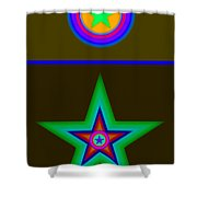 Medal Shower Curtain