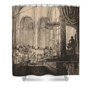 Medea, Or The Marriage Of Jason And Creusa Shower Curtain
