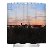 Mediaval Town Shower Curtain