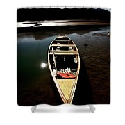Medicine Lake In Jasper National Park Shower Curtain