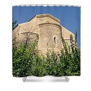 Medieval Abbey - Fossacesia - Italy 7 Shower Curtain