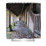 Medieval Church Entrance Shower Curtain