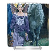 Medieval Fantasy Shower Curtain