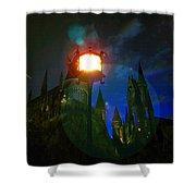 Medieval Night Shower Curtain