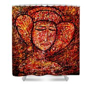 Medieval Noble Lady Shower Curtain