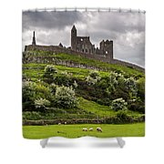 Medieval Rock Of Cashel Ireland Shower Curtain