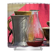 Medieval Still Life Shower Curtain