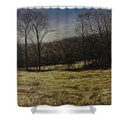 Medina Cornfield Shower Curtain