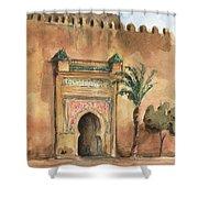 Medina Morocco,  Shower Curtain by Juan Bosco