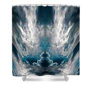 Meditating Cloud - 1 Shower Curtain