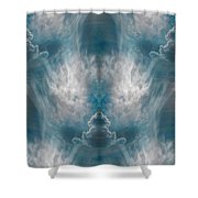 Meditating Cloud - 4 Shower Curtain