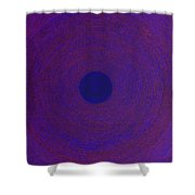 Meditation 1 Shower Curtain