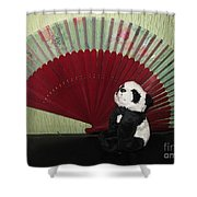 Meditation Hour Shower Curtain