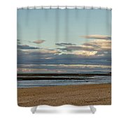 Meditation In The Coming Dusk. Shower Curtain