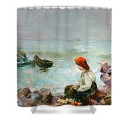 Meditation No. 1 Shower Curtain