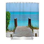 Meditation Point Shower Curtain