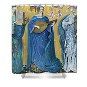 Meditations On The Holy Trinity  After The Music Of Olivier Messiaen, Shower Curtain