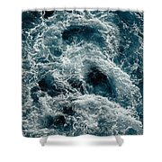 Mediterranean Sea Art 112 Shower Curtain