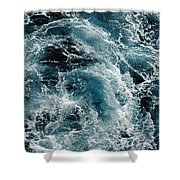 Mediterranean Sea Art 113 Shower Curtain