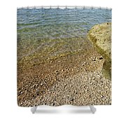 Mediterranean Seascape  Shower Curtain