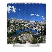 Medley Lake - Sierra Shower Curtain