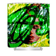Medusa 1-26 Shower Curtain