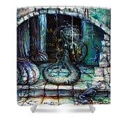 Medusa Shower Curtain