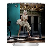 Meet Marilyn Shower Curtain