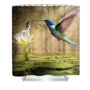 Meeting Mother Nature Shower Curtain